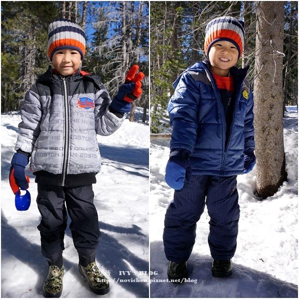 ▌美國加州 ▌【衣著篇】玩雪怎麼穿?要保暖不要厚重! 兒童雪地服裝分享篇~