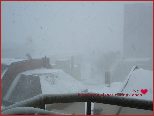 大雪紛飛的加拿大