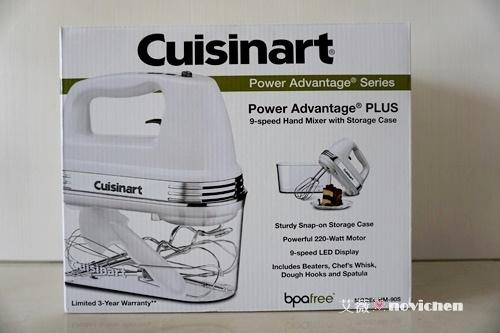 ♥ 烘焙工具 ♥ 來自美國的Cuisinart專業型手提式攪拌機