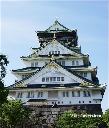 《2014。大阪》【景點】大阪城天守閣~大阪第一名城