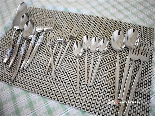 「HOLA網購」漂亮餐具營造出美好的生活~ 康妮、Lotus刀叉筷匙系列