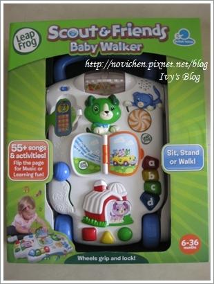 [玩具-6M~36M] Leapfrog 寶貝學步車