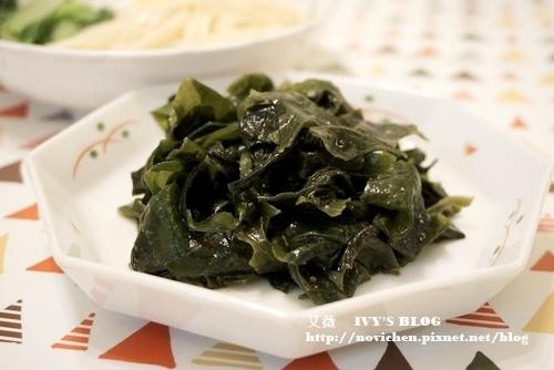 ♥ 艾薇廚房 ♥ 開胃的涼拌料理 ▌涼拌梅子海帶芽 ▌(步驟圖文版)