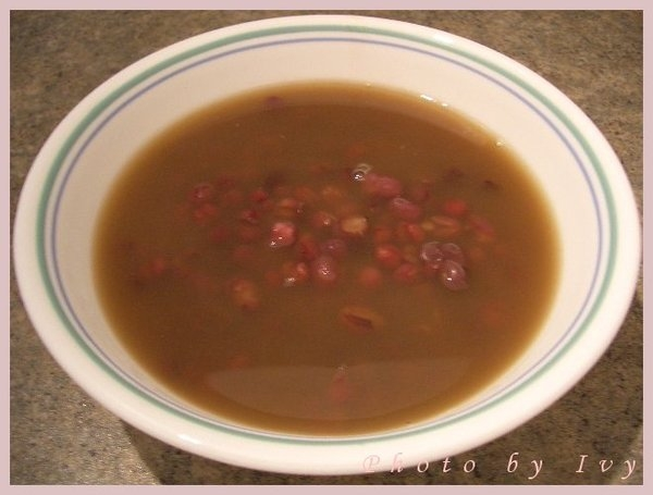 *中式點心* 紅豆湯