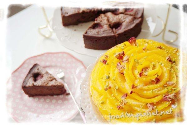 【法式甜點推薦】糖粲 法式甜點(芒果花束塔+覆盆子布朗尼)