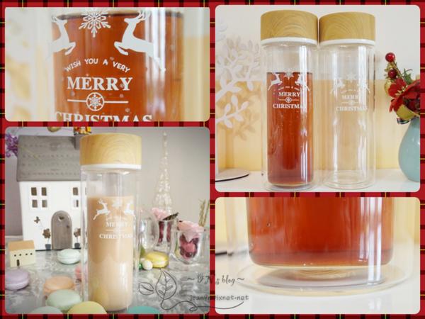 《限時團購》耶誕節交換禮物提案-雙層防燙玻璃隨行杯