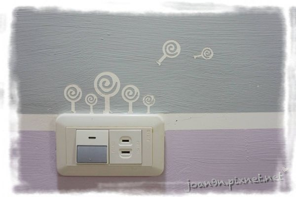 《居家改造》客廳大變身-DIY條紋牆面教學