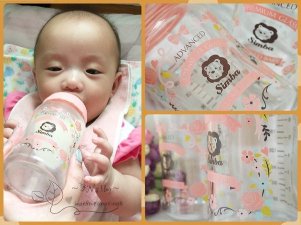 《體驗》奶瓶也可以好時尚!!!小獅王辛巴蘿蔓晶鑽寬口玻璃大奶瓶