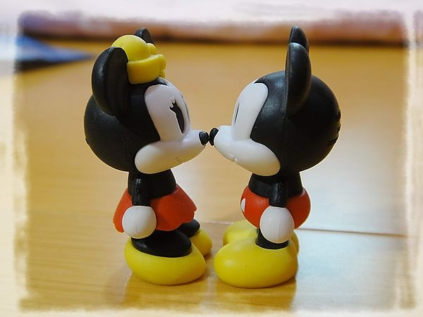 《扭蛋》迪士尼組合橡皮擦