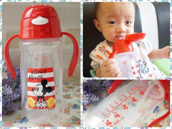 《柑》讓寶寶愛上喝水~迪士尼米奇彈跳水杯-ViVibaby