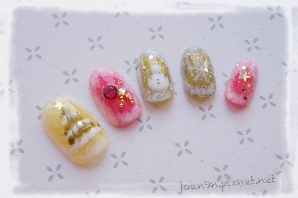 《DIY凝膠指彩》雪地裡的耶誕-邦妮兔甜心甲油