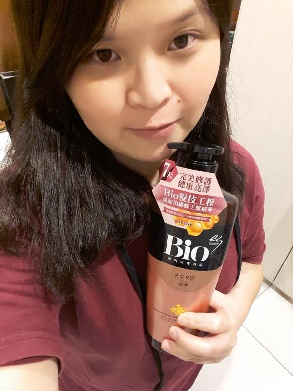 [美髮。體驗]搶救受損髮質ES BIO 蜂膠髮技工程洗髮精