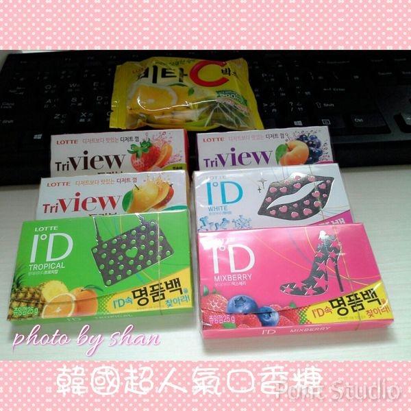 [分享]LOTTE韓國超人氣零食組合~口香糖