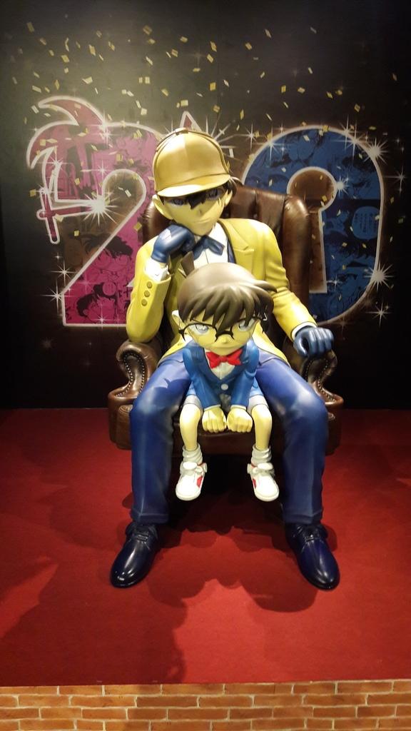 [展覽]從小陪伴我們長大的名偵探柯南20周年紀念