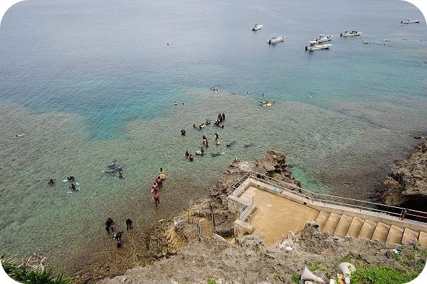 【沖繩】真榮田岬。青之洞窟浮潛
