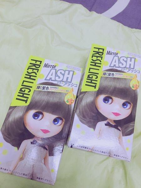﹝美髮﹞Fresh Light富麗絲_小布娃娃染髮劑 ~ASH銀雪灰