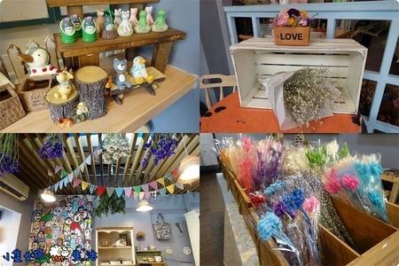 [員林❤逛街] 樂鋪 //手作乾燥花、雜貨小物專賣店,很有日系雜貨味道的小店舖,乾燥花適合拍照素材、送禮、擺設小物!