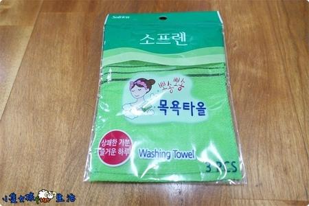 【心得】難用到我很生氣的韓國Sofrien搓仙神巾(角質搓澡巾)!!