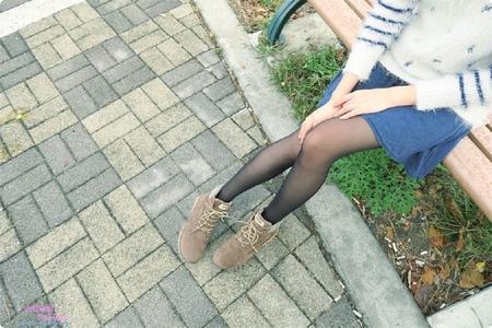 [穿搭x短靴推薦]DOOK千鳥紋絨面短筒靴,率性甜美兼具的千鳥紋絨面短靴,秋冬涼涼穿上平價短靴出門走走吧!