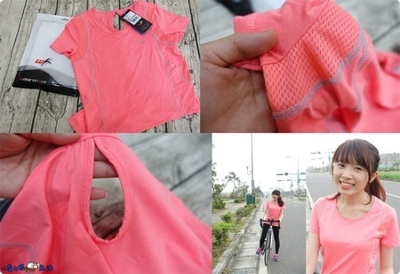 [穿搭x機能運動休閒服]休閒運動都推薦的機能衣!WISE'n'FIT女子超涼感彈力機能圓領衫(背面簍空透氣孔系列)~涼感舒適、排汗透氣、合身修飾,外出休閒或運動都適合!
