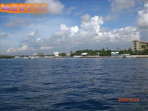 [菲律賓]漫活資生堂島(又名:漁夫島Caohagan Island)