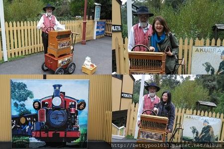 [墨爾本]必去Puffing Billy-帕芬比利百年古董蒸氣小火車