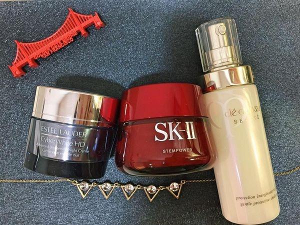 『保養』夏日保養新重點-臉部乳液的選擇。SK-II 雅詩蘭黛 肌膚之鑰