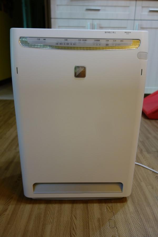 【開箱】大金光觸媒流空氣清淨機(MC75LSC)搭配3M靜電空氣濾網(專業級)~給你超級清新好空氣