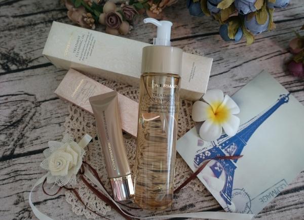 【彩妝】COVERMARK日本粉底遮瑕專家~柔紗潤澤定妝隔離霜、極淨修護卸妝油