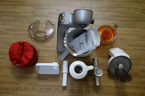 【開箱】料理機界的變形金剛~BOSCH麵糰機MUM56S40