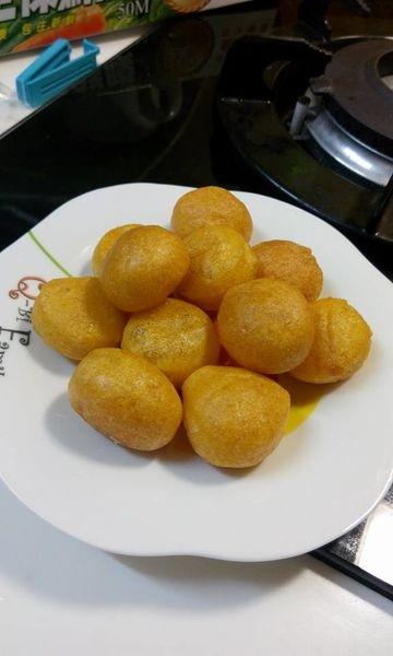 【甜點】黃金地瓜球~夜市小吃自己做