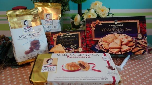 【餅乾】義大利維西尼+蘇格蘭金蓓奶油餅組合~義大利的百年品牌,下午茶的美味點心