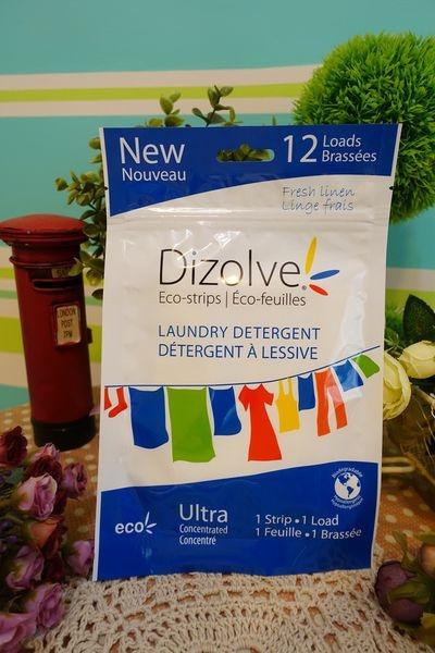 【洗衣】Dizolve蒂柔芙 奈米級高效環保即溶洗衣紙~洗衣哲學新革命,顛覆傳統洗衣精的用量