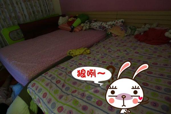 【育兒】怎麼床上沒人?狼咧~