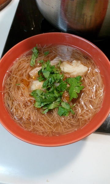 【中式料理】赤肉羹麵線