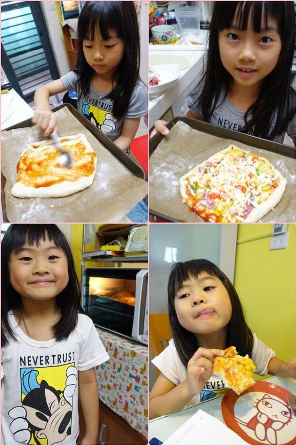 【相片日記】假日在家做PIZZA