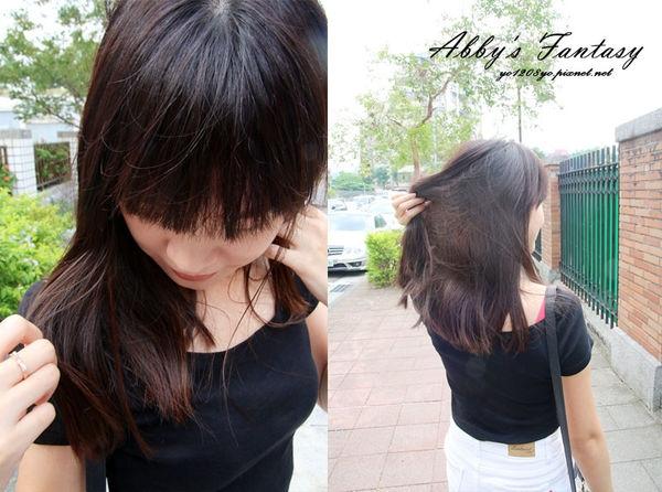 台北公館染髮Hcolor 內片染挑染綁馬尾好好看 (結構式護髮+資生堂染劑)