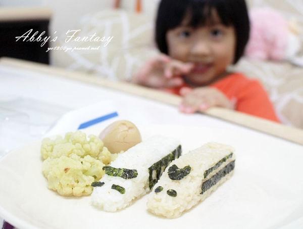 五分鐘完成可愛日本電車飯糰套餐,提升小孩食慾的好方法  Arnest創意料理小物電車飯糰模型套組
