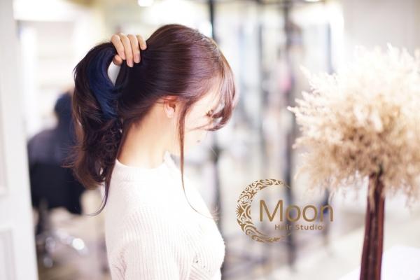 變髮 ■ 怕被媽媽罵就用這一招,隱藏式星空染髮讓妳低調的好美麗!Moon hair (台北忠孝敦化站3號出口) ❤