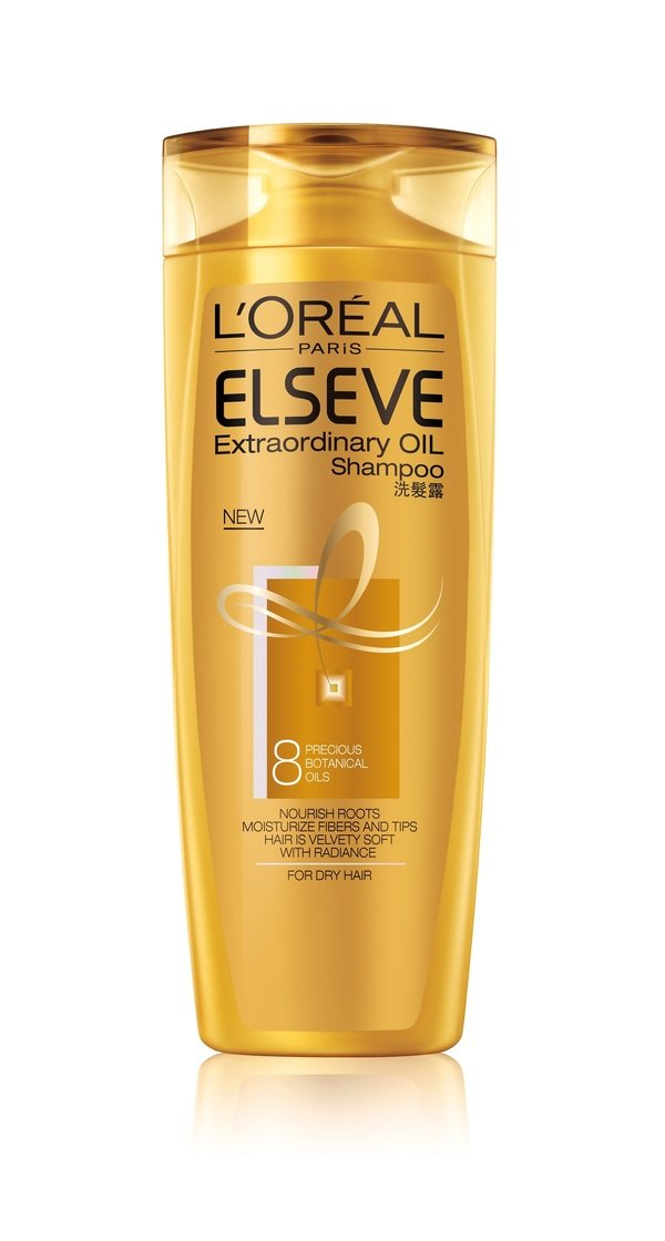 L`Oréal Paris巴黎萊雅金緻護髮精油洗髮露.jpg