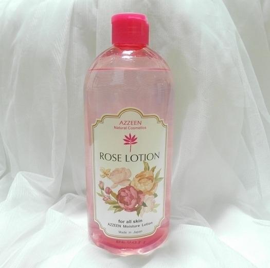大量使用不心疼!濕敷出嫩顏水光肌:AZZEEN芝研 植萃皇后玫瑰玻尿酸化妝水