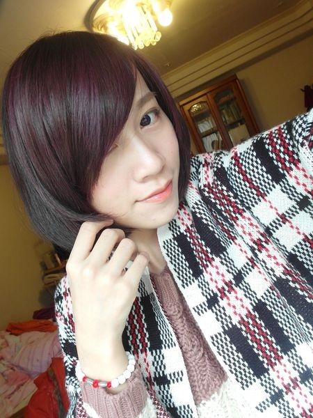 [變髮] 過年新氣象好氣色:羅蘭紫x咖啡紅
