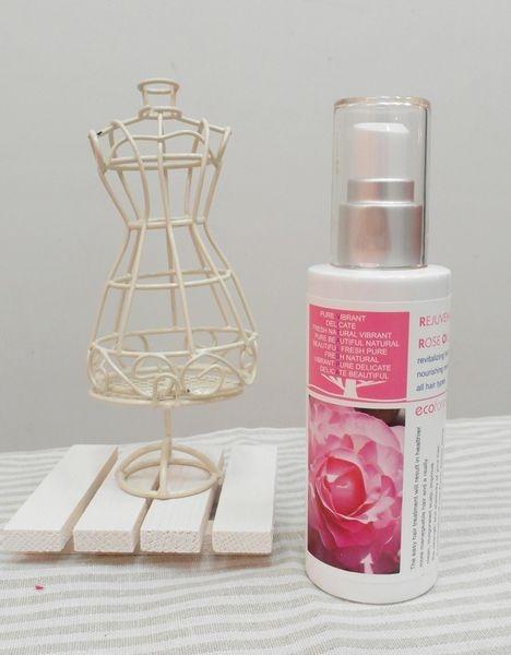 嚴選法國玫瑰精萃,輕鬆擁有光澤髮梢:Vital Spa格拉斯玫瑰魔法晶露