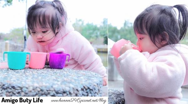 【育兒好物】英國 Doidycup彩虹學習水杯.彎月造型與奶瓶無縫接軌❤(圖文+影音)