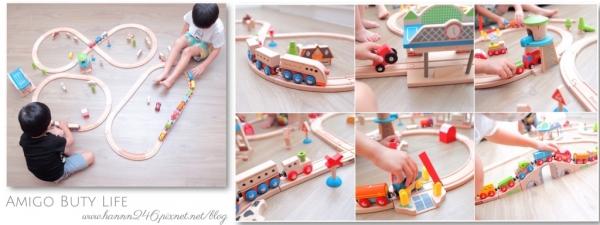 ▌育兒好物▌EverEarth木製軌道車系列.小男孩夢想中的軌道火車❤(圖文+影音)