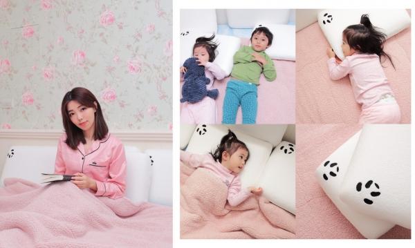 【育兒】英國暢銷Panda甜夢枕.躺在雲朵般的舒適-Amazone五顆星好評的嬰兒枕/兒童枕/成人枕