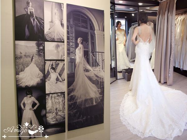 ▌我的週年婚紗選擇▌Livia Bride莉維亞歐美頂級手工婚紗❤