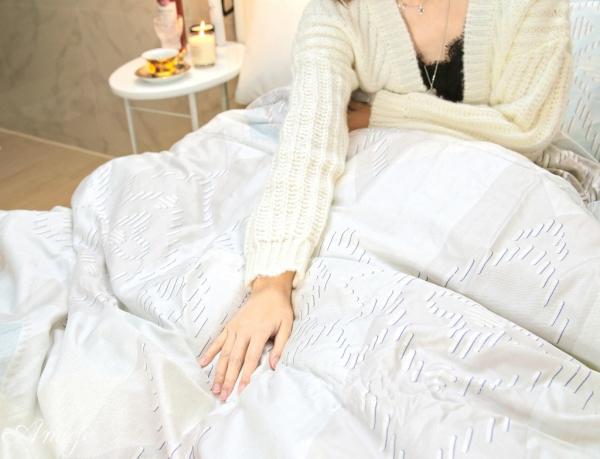 開團 HOYACASA寢具 天絲柔棉床包兩用被四件組