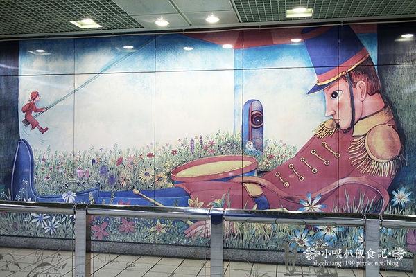 【台北景點】捷運南港站~幾米的繪本王國~夢幻國度
