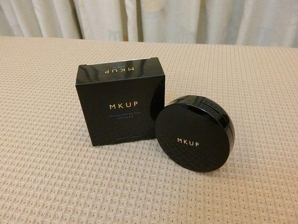 【MKUP 美咖】水裸光保濕氣墊粉餅SPF50。保濕。透亮。控油